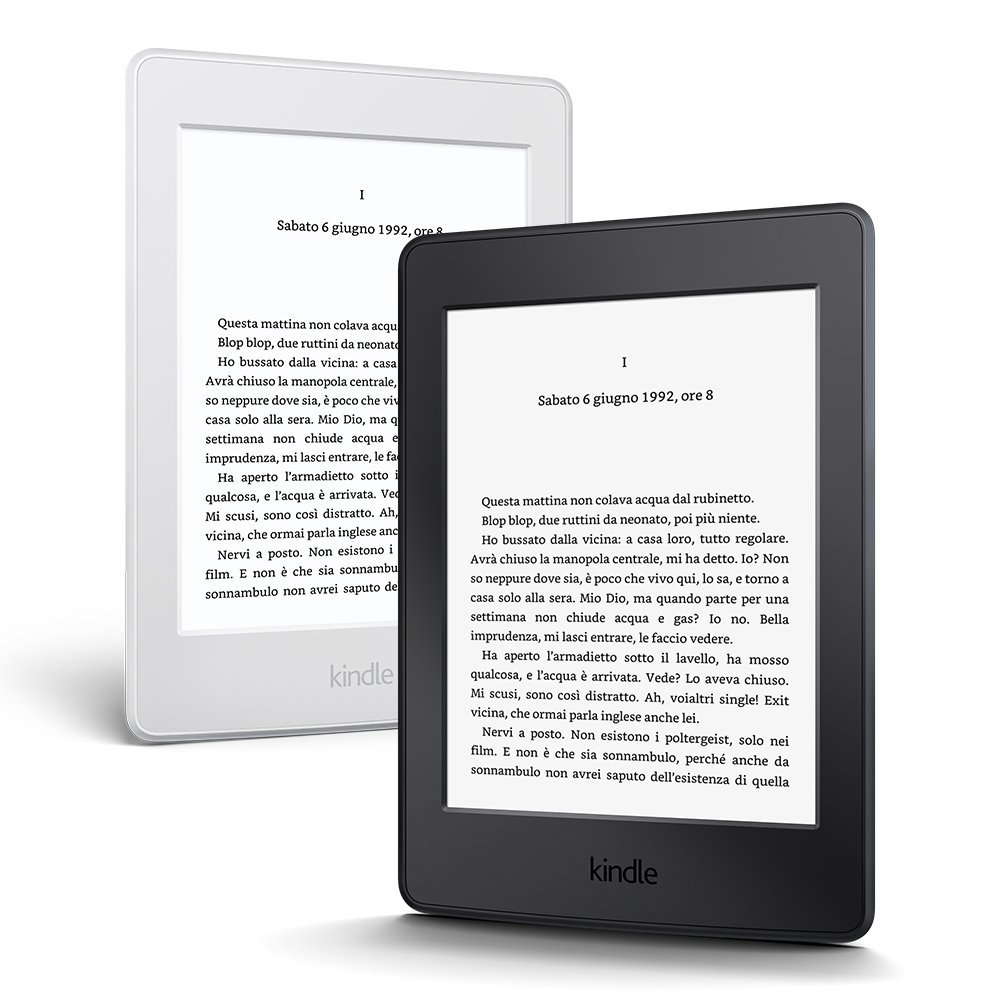 Kindle Paperwhite vista frontale