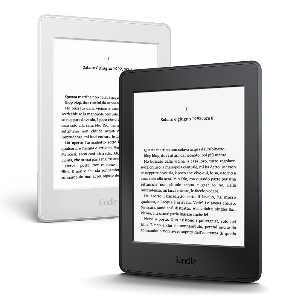 Kindle Paperwhite vista frontale
